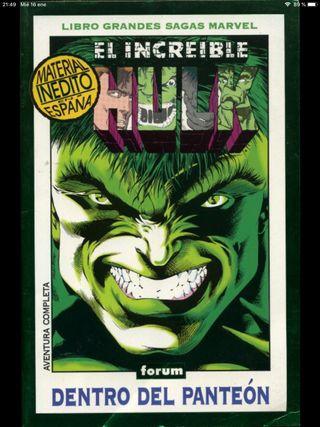 Libro Grandes Sagas Marvel, Increíble Hulk