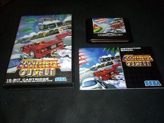 Turbo Out Run impoluto Sega Mega Drive Outrun
