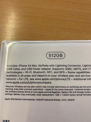 iPhone XS Max 512GB UNLOCKED