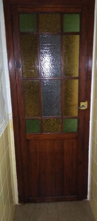 Puertas de madera viejas de segunda mano en wallapop - Garajes de madera de segunda mano ...
