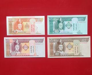 Billetes de Mongolia