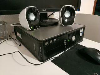 Ordenador Sobremesa Dell y pantalla Asus