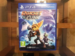Juego Ratchet and Clank PS4 Blu-Ray