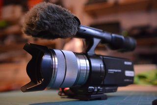 SONY NEX-VG10 HD1080 (PERFECTO ESTADO)