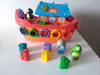 juguete educativo encajable formas bebé de vtech