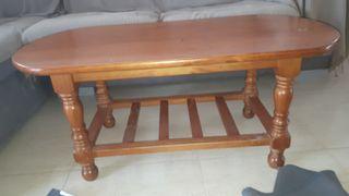 mueble tv y mesa de centro