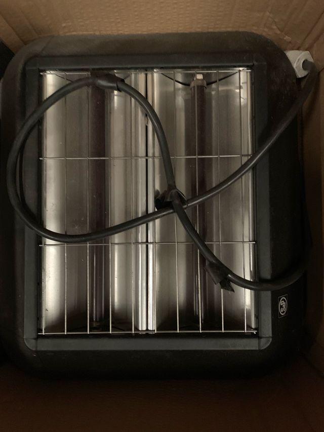 Calefactor exterior infrarrojos