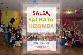 Clases de bachata, salsa y kizomba