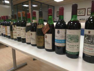 Pack botellas vino de coleccionista