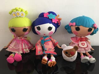 Lalaloopsy enfermera, geisha, y buterfly