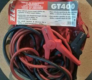 Cables arranque pinzas 3.20 mts. Regalo triangulo