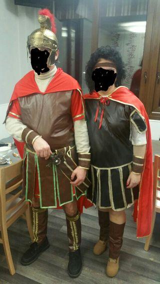 Disfraz romanos