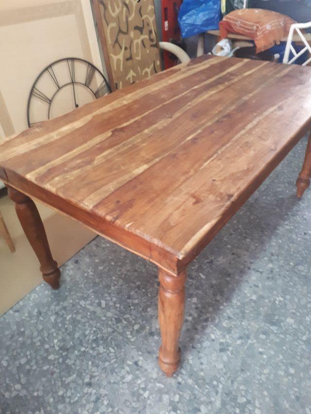 Mesa comedor madera Rústica de segunda mano por 100 € en El Madroñal ...