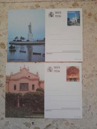 Tajetas entero postales España