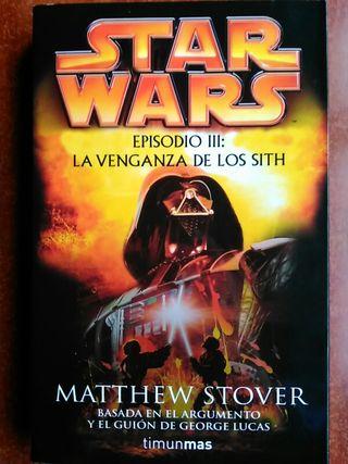 Star Wars La venganza de los Sith Novela
