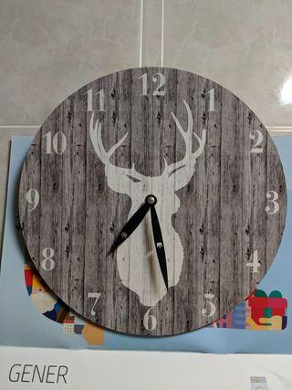 Reloj de Pared ciervo