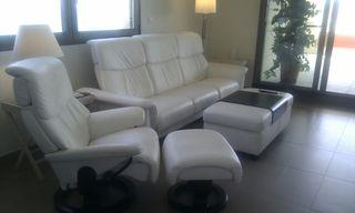 sofa piel marca stressless