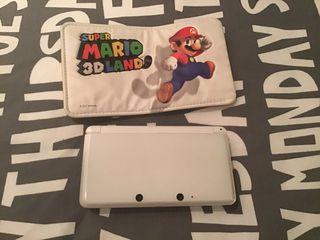 Nintendo 3Ds + funda Súper Mario 3D Land