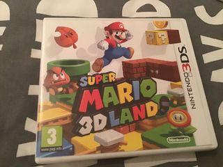 Mario 3D land para Nintendo 3Ds