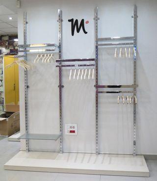 Equipamiento comercial para tienda de ropa Tipo 6