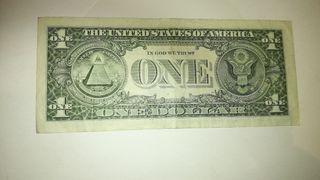 BILLETE DE 1$ AMERICANO.