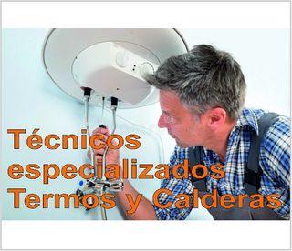 técnicos reparación de termos gas termos electrico