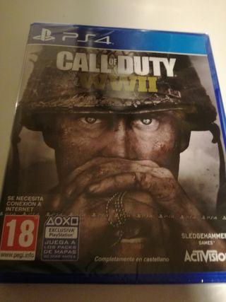 Call of Duty WWII precintado PS4