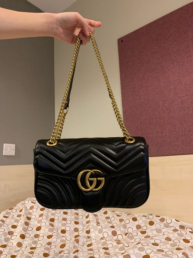 Gucci GG Marmont Chain Bag handbag small black