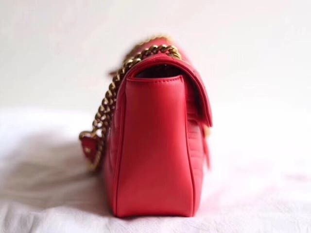 Gucci GG Marmont Cross Body Shoulder Chain Ba