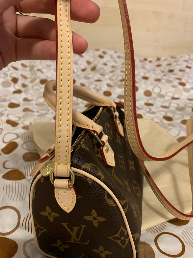 LV Nano speedy shoulder bag