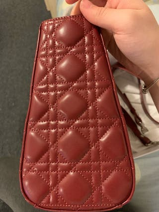 My lady Dior handbag wine red