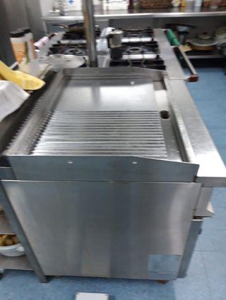 Plancha cocina industrial Fry top Repagas