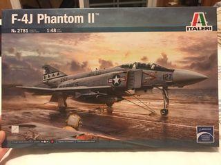 Maqueta F-4J Phantom II