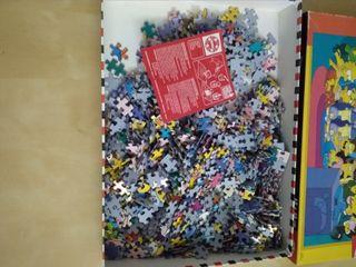 puzzle de 1000 piezas de los Simpsons