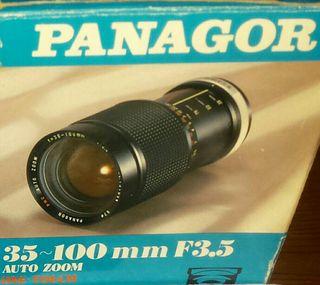"""Objetivo/lente PANAGOR """"vintage"""""""