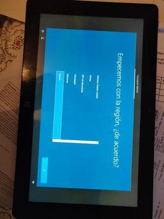 Tablet con Windows 10