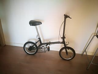 vendo bici plegable