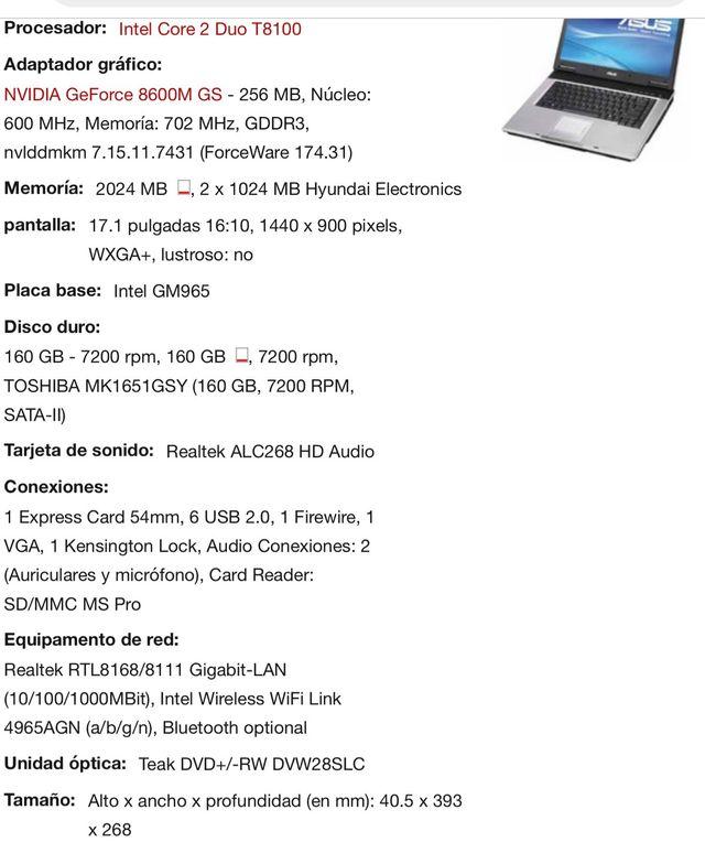 Ordenador portátil Dell