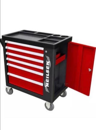 Tool cabinet with tools all brand new in box