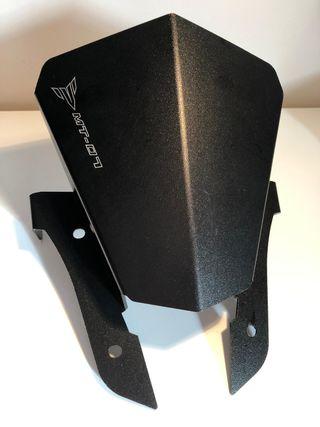pantalla deriva brisas Yamaha MT07 cupula aluminio