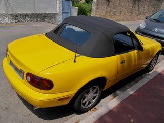 Capota Mazda mx5 vinilo con luneta pvc plastica