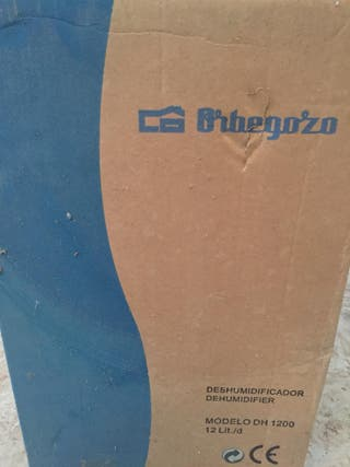 Deshumidificador Orbegozo 12L