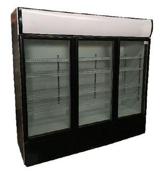 Armario Refrigeración 3 puertas de cristal Nevera