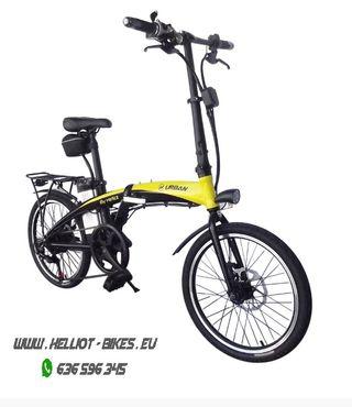 Bicicleta eléctrica By Helliot urban 48V