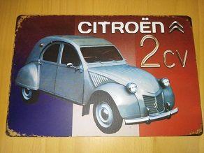 Chapa Citroen 2CV