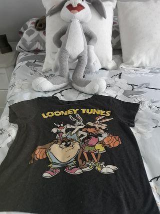 Peluche Buss Bonny + Camiseta Looney Tunes