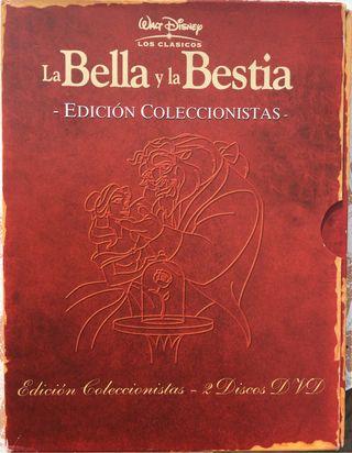 La bella y la bestia,edición coleccionista
