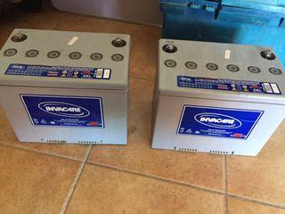 2 Baterías de Scooter eléctrico Invacare