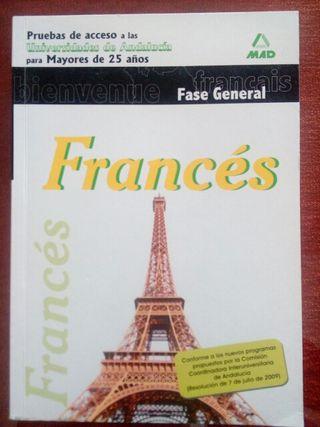 Libro Frances. Prueba acceso univesidad