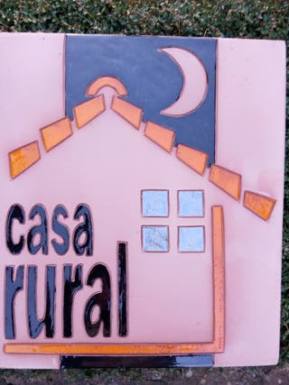 Cartel casa rural